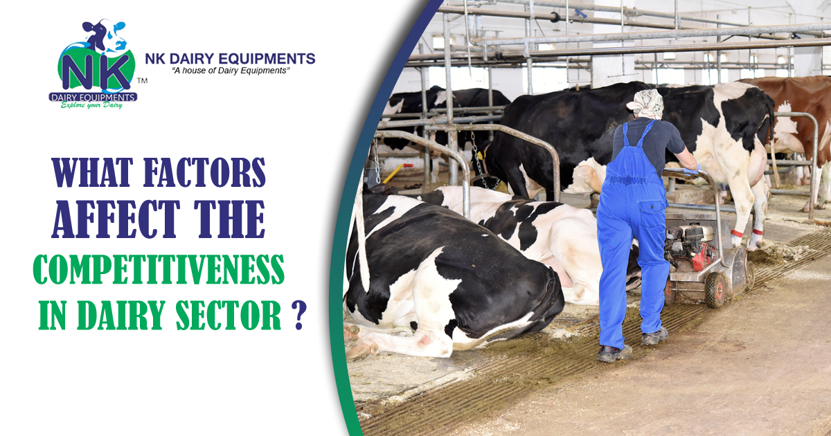 What Factors Affect the Competitiveness in Dairy Sector copy
