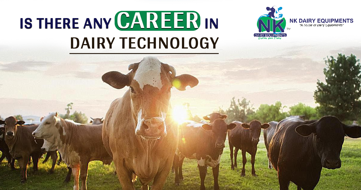 Is there any career in Dairy technology