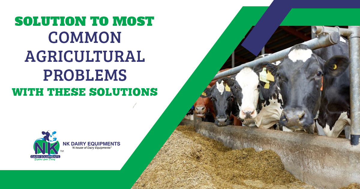 Solution to Most Common Agricultural problems with these solutions