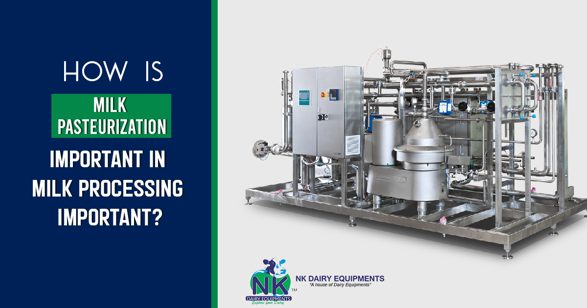 How is Milk Pasteurization important in Milk processing important