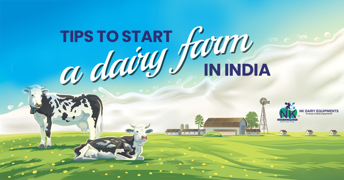 Tips to Start a dairy farm in India